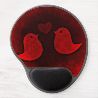 Birds love gel mouse pad