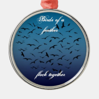 birds of a feather ornament