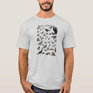 Birds of Europe Shirt
