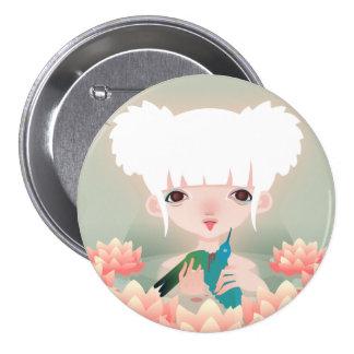 Birds of Paradise 7.5 Cm Round Badge