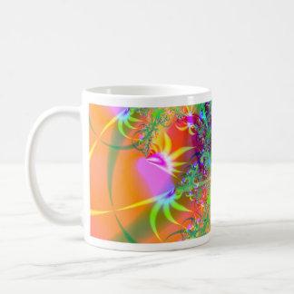 Birds of Paradise (A) Abstract Fractal Design Mug
