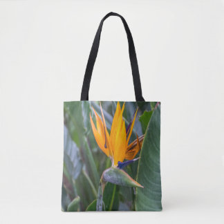 Birds of Paradise all-over-print tote bag