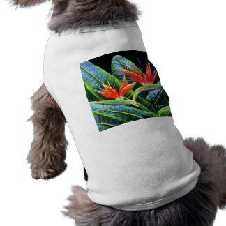 Birds of Paradise Pet T-shirt