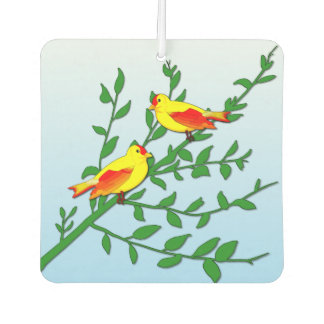 Birds of Peace Car Air Freshener