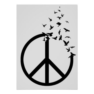 Birds of Peace Poster