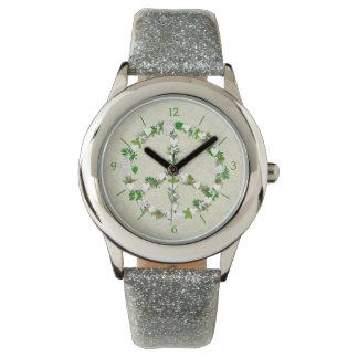 Birds Of Peace Wristwatch