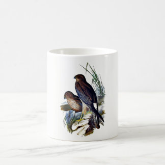 Birds of prey coffee mug