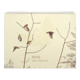 Birds of the Northwoods Calendar