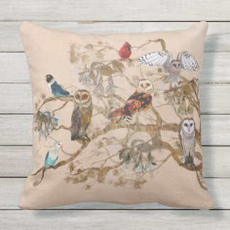 BIRDS OF THE SAME FEATHER CUSHIONS