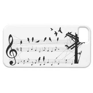 Birds on a Score iPhone 5 Cover