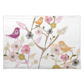 Birds on a tree American MoJo Placemat