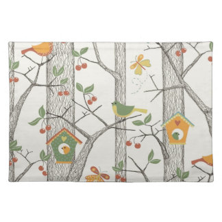 Birds on a Tree Placemat