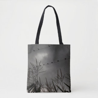 Birds on a Wire Tote