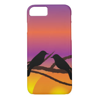 Birds on branches iPhone 7 case