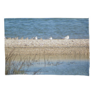 Birds on the Matanzas Pillow Case