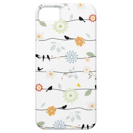 Birds on Vines iPhone 5 Case
