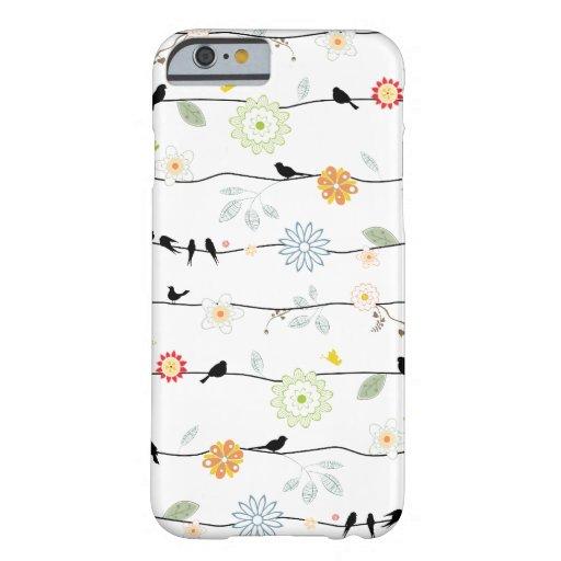 Birds on Vines iPhone 6 case