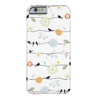 Birds on Vines iPhone 6 case Barely There iPhone 6 Case
