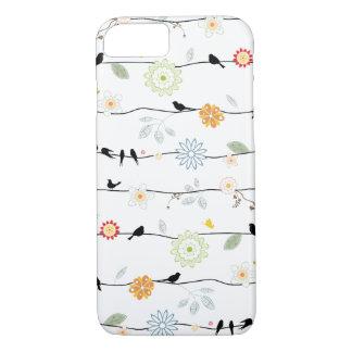 Birds on Vines iPhone 7 case