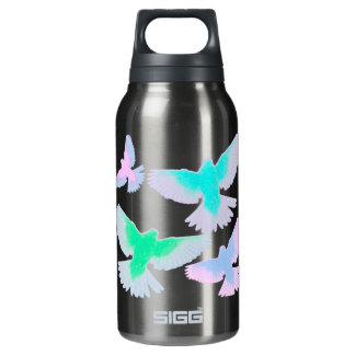 Birds Pastel Insulated Water Bottle