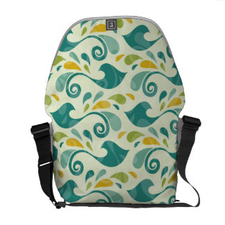 Birds pattern commuter bags