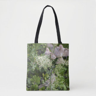 Birds & Plants Tote Bag