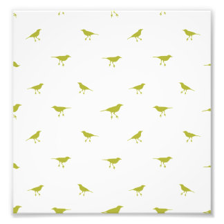 Birds Silhouette Print