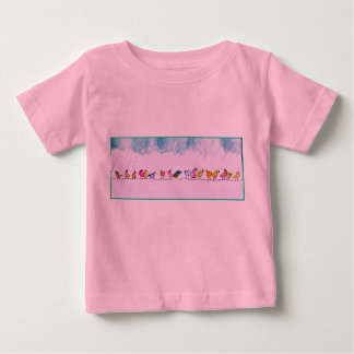 Birds Singing in the Rain Infant shirt