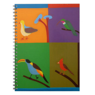 Birds that Visit the Valley of Bogota 2008 Notebook