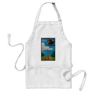 Birds To Worms The Grim Beaker Funny Gifts & Tees Standard Apron