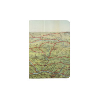 Birdseyes View Great Plains Passport Holder