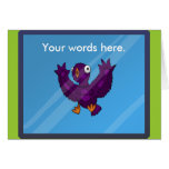 birdsplatter card