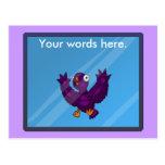 birdsplatter post card
