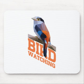 Birdwatching Mouse Pad