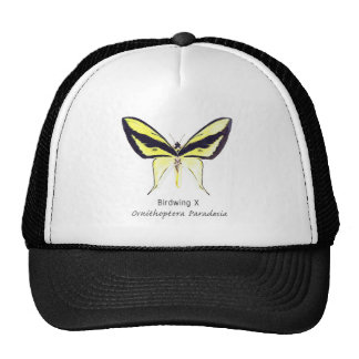 Birdwing X Butterfly with Name Trucker Hat