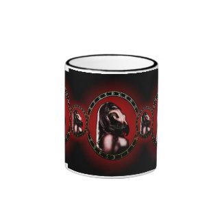 birdwoman cup. ringer coffee mug