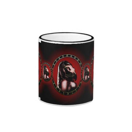 birdwoman cup. mugs
