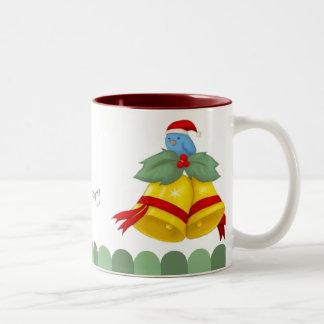 Birdy Bells Two-Tone Mug
