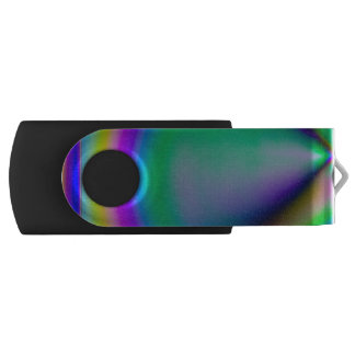 Birefringent pattern USB flash drive