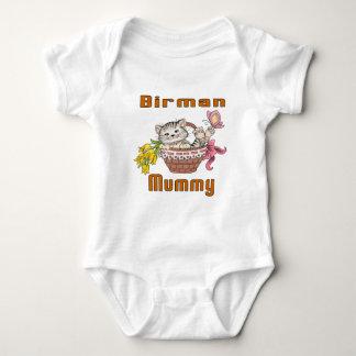 Birman Cat Mom Baby Bodysuit