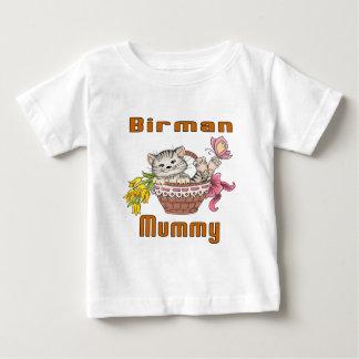 Birman Cat Mom Baby T-Shirt