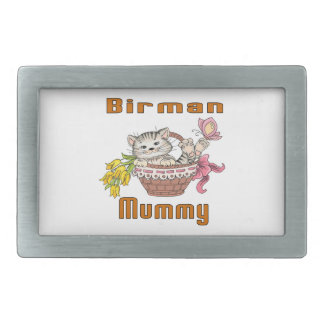 Birman Cat Mom Belt Buckles