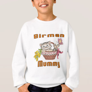 Birman Cat Mom Sweatshirt
