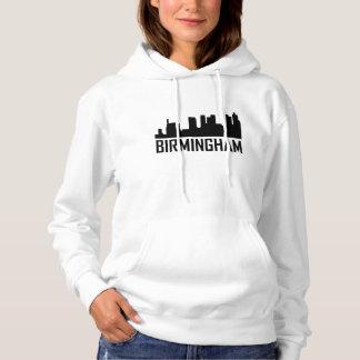 Birmingham Alabama City Skyline Hoodie