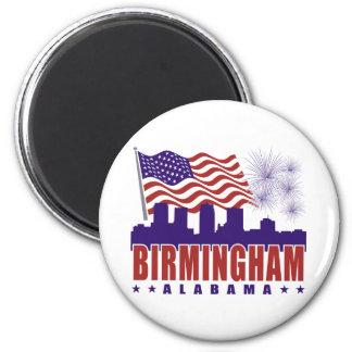 Birmingham Alabama Patriotic Magnet