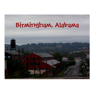 Birmingham Alabama Post Card