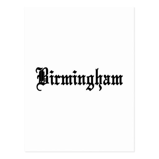 Birmingham, Alabama Postcards