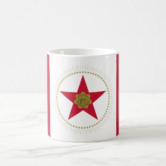 Birmingham city Alabama flag united states america Basic White Mug
