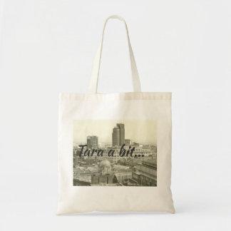 Birmingham cityscape & brumie saying tara a bit tote bag