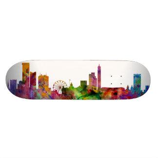 Birmingham England Skyline Skate Deck